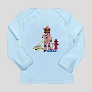 Firefighter - Custom2 Long Sleeve Infant T-Shirt