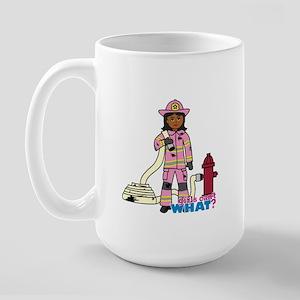 Firefighter - Custom2 Large Mug