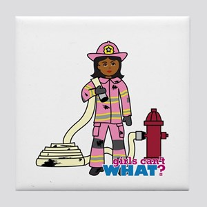 Firefighter - Custom2 Tile Coaster