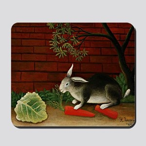 Henri Rousseau: Rabbit Mousepad