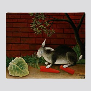 Henri Rousseau: Rabbit Throw Blanket