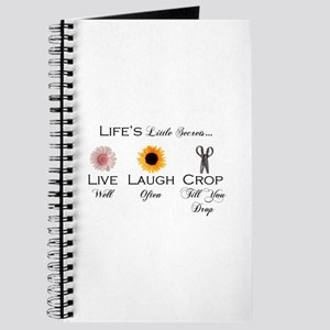 Live.Laugh.Crop. Journal