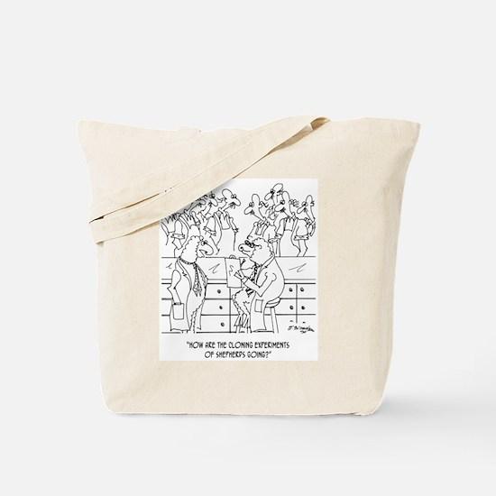 Shepherd Cloning Tote Bag