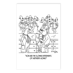 Shepherd Cloning Postcards (Package of 8)