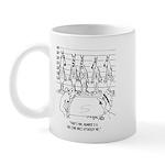 Wolf Line Up Mug
