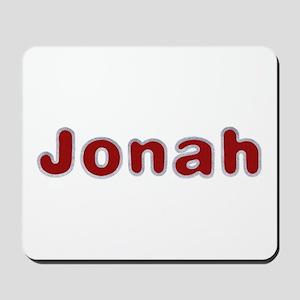 Jonah Santa Fur Mousepad