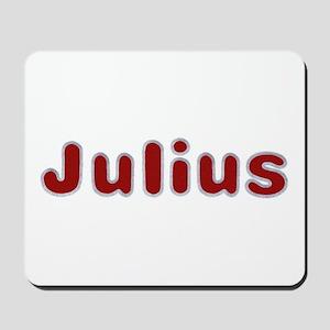 Julius Santa Fur Mousepad