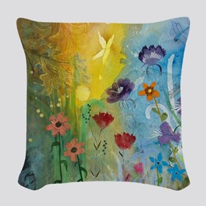 Mariposa Woven Throw Pillow