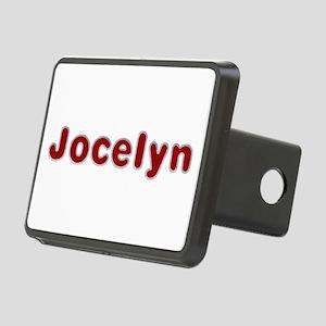 Jocelyn Santa Fur Rectangular Hitch Cover