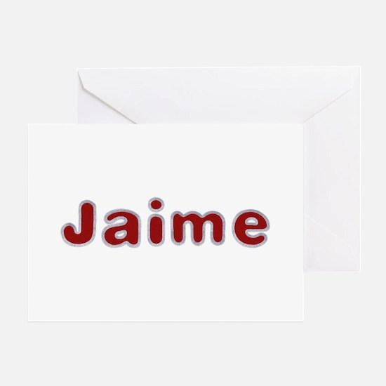 Jaime Santa Fur Greeting Card