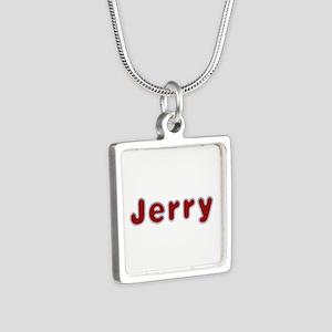 Jerry Santa Fur Silver Square Necklace