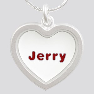 Jerry Santa Fur Silver Heart Necklace
