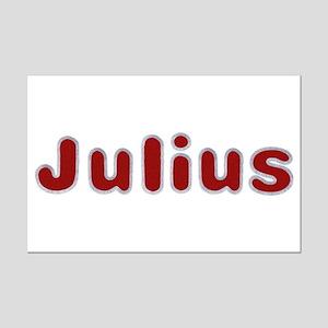 Julius Santa Fur Mini Poster Print