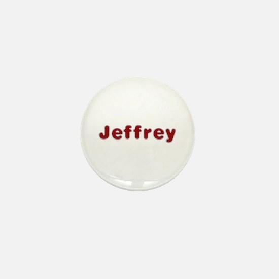 Jeffrey Santa Fur Mini Button
