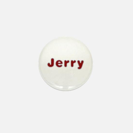 Jerry Santa Fur Mini Button