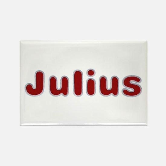 Julius Santa Fur Rectangle Magnet 100 Pack
