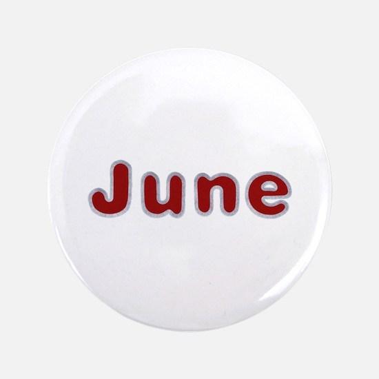 June Santa Fur Big Button