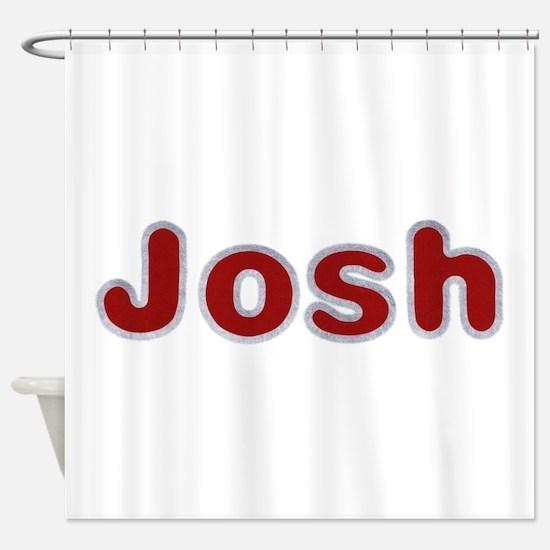 Josh Santa Fur Shower Curtain