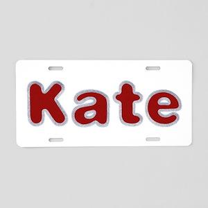 Kate Santa Fur Aluminum License Plate