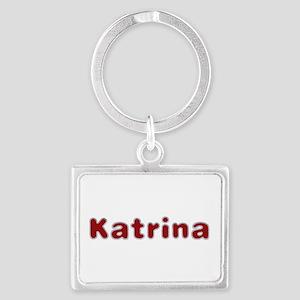 Katrina Santa Fur Landscape Keychain