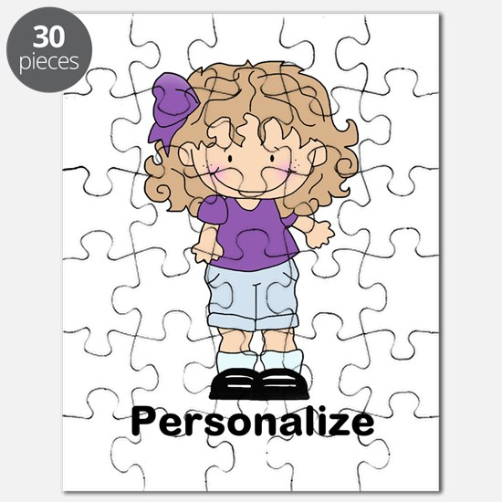My Girl Personalized Puzzle