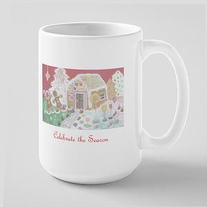 Gingerbread Holiday Large Mug