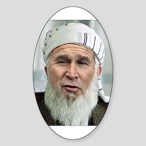 George Laden Oval Sticker