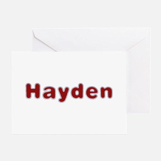 Hayden Santa Fur Greeting Card