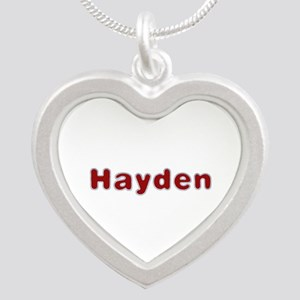 Hayden Santa Fur Silver Heart Necklace