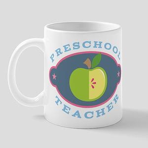 Preschool Teacher apple Mug