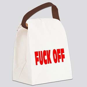 FUCK OFF Canvas Lunch Bag