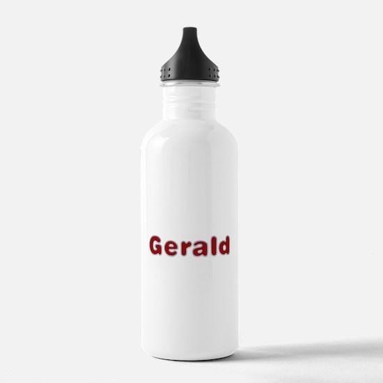 Gerald Santa Fur Water Bottle
