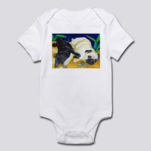 Pug Play Infant Bodysuit