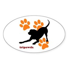 Tripawds Hound Dog Sticker