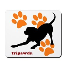 Tripawds Hound Dog Mousepad