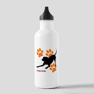 Tripawds Hound Dog Water Bottle