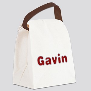 Gavin Santa Fur Canvas Lunch Bag