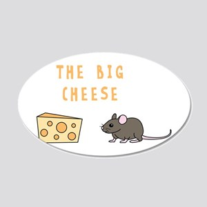 The Big Cheese Wall Decal
