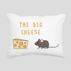The Big Cheese Rectangular Canvas Pillow