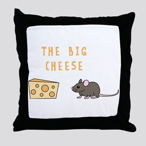 The Big Cheese Throw Pillow