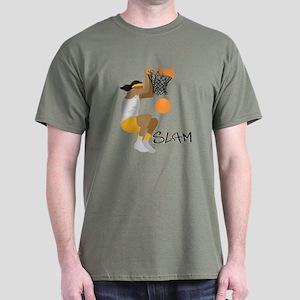 Slam Dunk Girl's Dark T-Shirt
