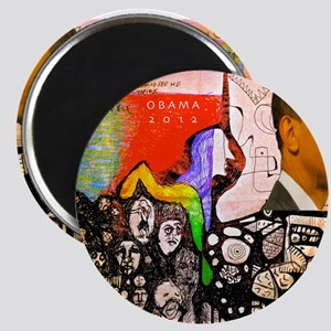 Obama Pride Magnet