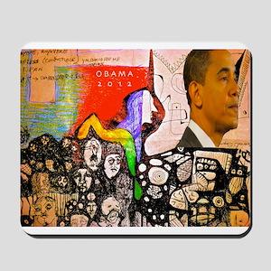 Obama Pride Mousepad