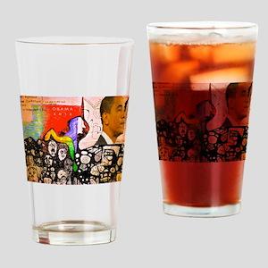 Obama Pride Drinking Glass