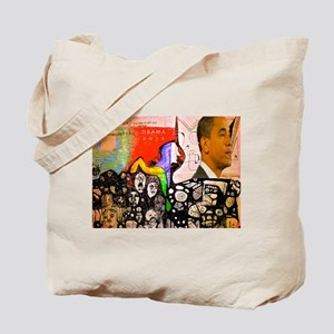 Obama Pride Tote Bag