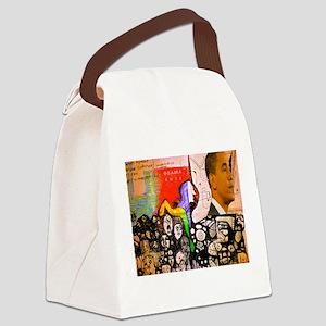 Obama Pride Canvas Lunch Bag
