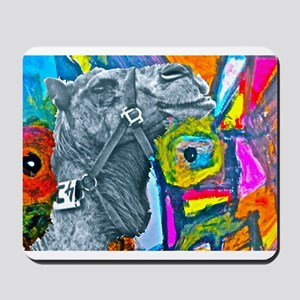 Colorful Camel Mousepad