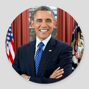 Barack Obama President of the United States Round