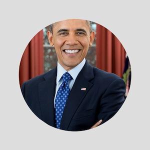 "Barack Obama President of the United States 3.5"" B"