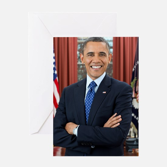 Barack Obama President of the United States Greeti
